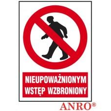 ZNAK  BEZPIECZEŃSTWA - Z-02Z1