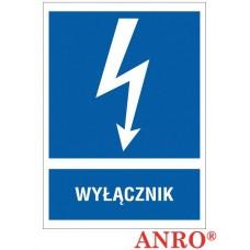 ZNAK  BEZPIECZEŃSTWA - ZZ-10EIA
