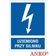 ZNAK  BEZPIECZEŃSTWA - ZZ-11EIA